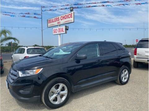 2017 Ford Edge for sale at Dealers Choice Inc in Farmersville CA