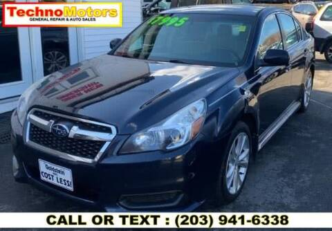 2013 Subaru Legacy for sale at Techno Motors in Danbury CT