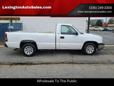 2005 Chevrolet Silverado 1500 for sale at LexingtonAutoSales.com in Lexington NC