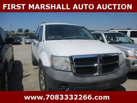 2008 Dodge Durango for sale at First Marshall Auto Auction in Harvey IL