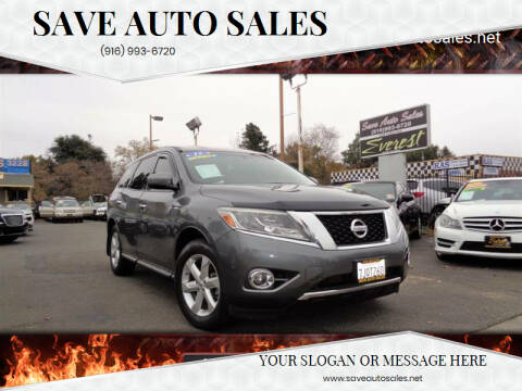 2015 Nissan Pathfinder for sale at Save Auto Sales in Sacramento CA