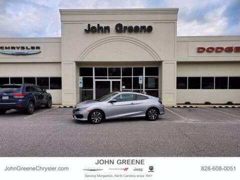 2017 Honda Civic for sale at John Greene Chrysler Dodge Jeep Ram in Morganton NC