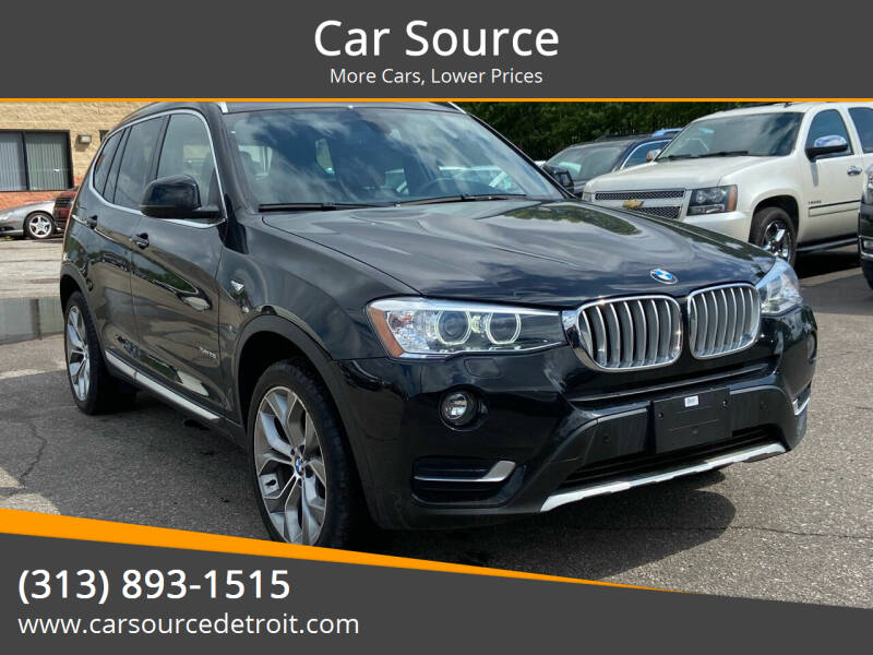 2017 BMW X3 for sale at Car Source in Detroit MI