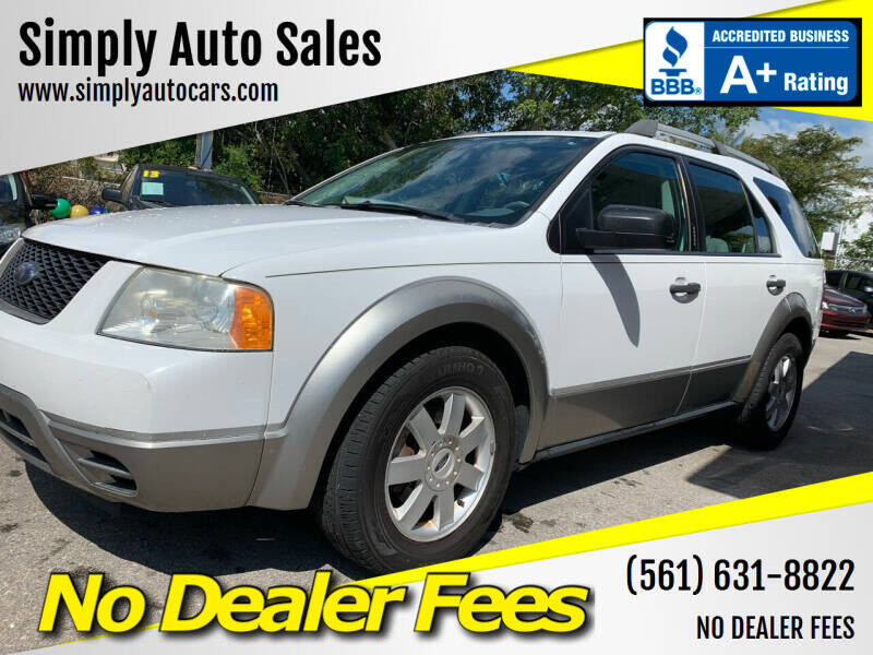 2006 Ford Freestyle for sale at Simply Auto Sales in Palm Beach Gardens FL