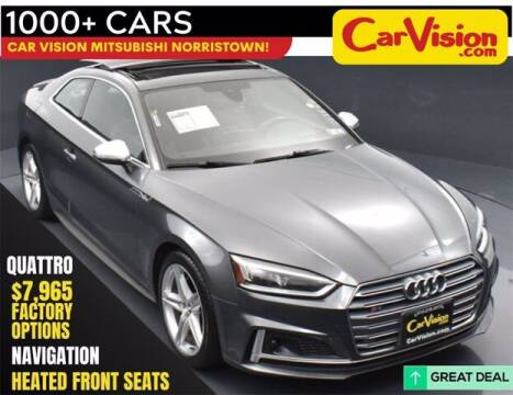 2018 Audi S5 for sale at Car Vision Buying Center in Norristown PA