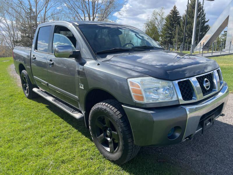 2004 Nissan Titan for sale at BELOW BOOK AUTO SALES in Idaho Falls ID