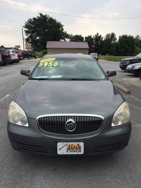2008 Buick Lucerne for sale at KEITH JORDAN'S 10 & UNDER in Lima OH