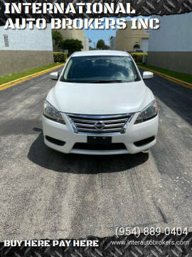 2014 Nissan Sentra for sale at INTERNATIONAL AUTO BROKERS INC in Hollywood FL