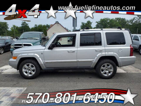 2006 Jeep Commander for sale at FUELIN FINE AUTO SALES INC in Saylorsburg PA