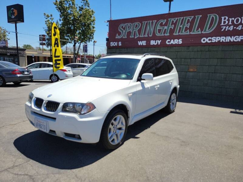2006 BMW X3 for sale at SPRINGFIELD BROTHERS LLC in Fullerton CA