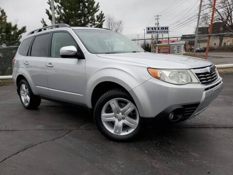 2010 Subaru Forester for sale at Dan Paroby Auto Sales in Scranton PA