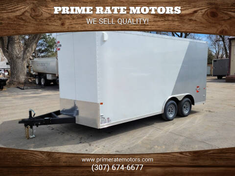 2021 Charmac 8' x 16' Cargo Trailer for sale at PRIME RATE MOTORS in Sheridan WY