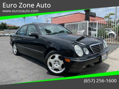 2000 Mercedes-Benz E-Class for sale at Euro Zone Auto in Stanton CA