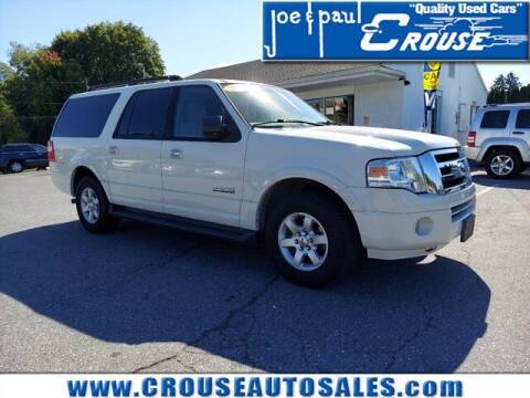 2008 Ford Expedition EL for sale at Joe and Paul Crouse Inc. in Columbia PA