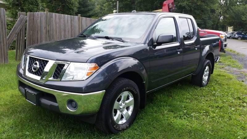 2011 Nissan Frontier for sale at ALL Motor Cars LTD in Tillson NY