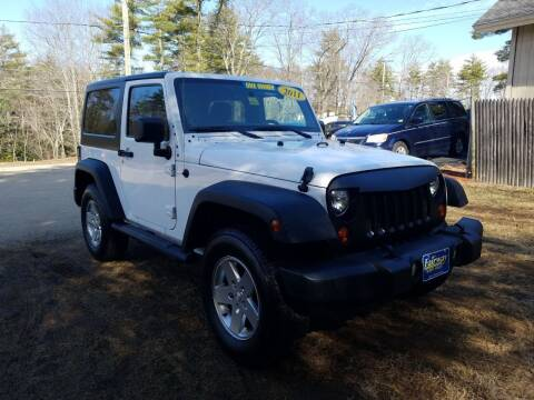 2011 Jeep Wrangler for sale at Fairway Auto Sales in Rochester NH