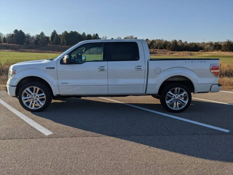 2013 Ford F-150 for sale at TNK Autos in Inman KS