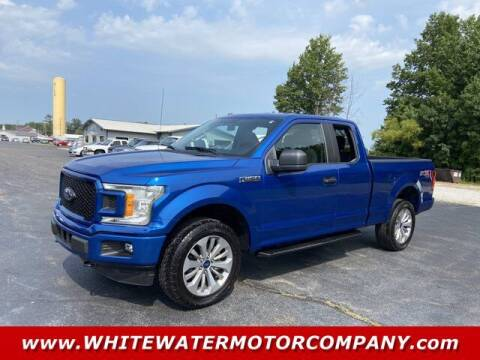2018 Ford F-150 for sale at WHITEWATER MOTOR CO in Milan IN