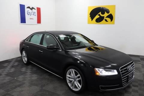 2015 Audi A8 L for sale at Carousel Auto Group in Iowa City IA