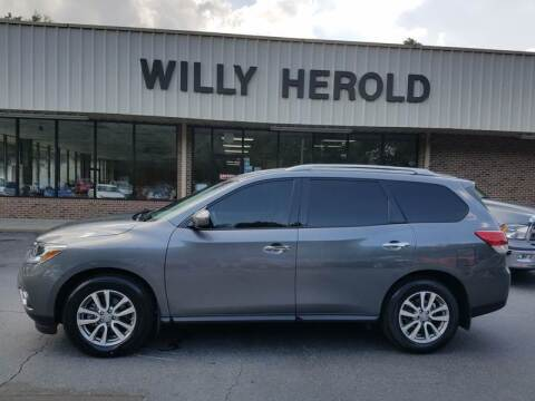 2015 Nissan Pathfinder for sale at Willy Herold Automotive in Columbus GA