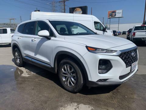 2019 Hyundai Santa Fe for sale at Best Buy Quality Cars in Bellflower CA
