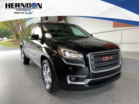 2017 GMC Acadia Limited for sale at Herndon Chevrolet in Lexington SC