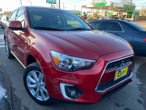 2015 Mitsubishi Outlander Sport for sale at New Wave Auto Brokers & Sales in Denver CO