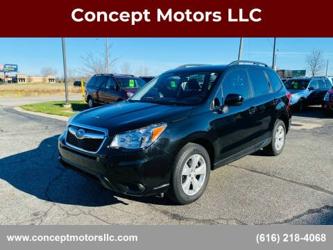 2015 Subaru Forester for sale at Concept Motors LLC in Holland MI