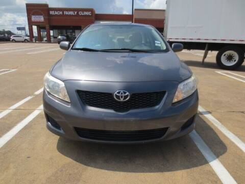 2010 Toyota Corolla for sale at MOTORS OF TEXAS in Houston TX