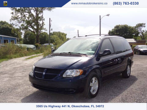 2005 Dodge Grand Caravan for sale at M & M AUTO BROKERS INC in Okeechobee FL