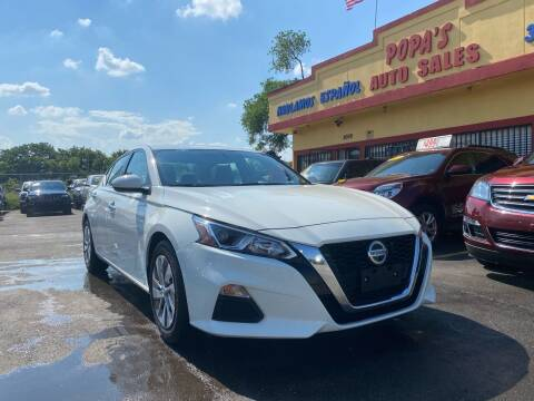2019 Nissan Altima for sale at Popas Auto Sales in Detroit MI