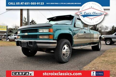 1995 Chevrolet C/K 3500 Series for sale at St. Croix Classics in Lakeland MN