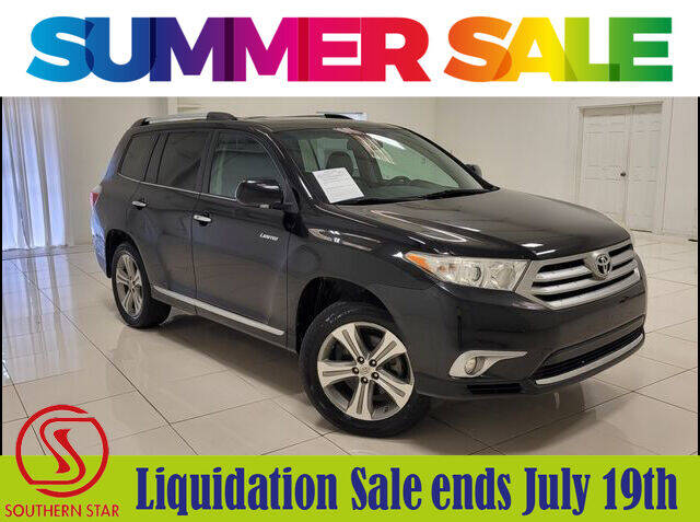 2011 Toyota Highlander for sale at Southern Star Automotive, Inc. in Duluth GA
