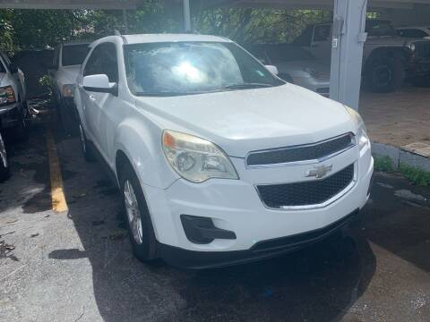 2012 Chevrolet Equinox for sale at America Auto Wholesale Inc in Miami FL