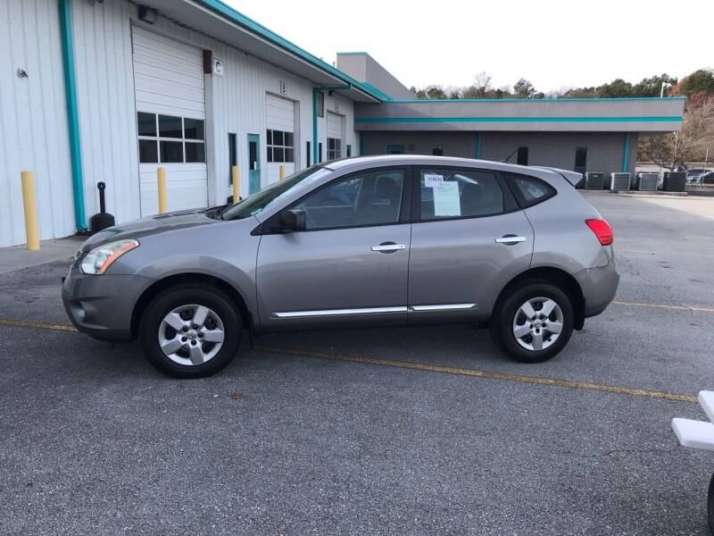 2013 Nissan Rogue for sale at Knoxville Wholesale in Knoxville TN