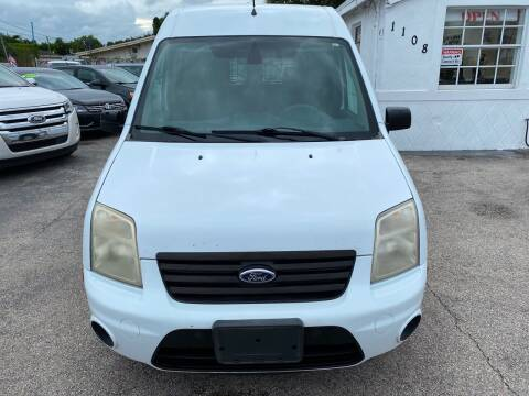 2013 Ford Transit Connect for sale at INTERNATIONAL AUTO BROKERS INC in Hollywood FL
