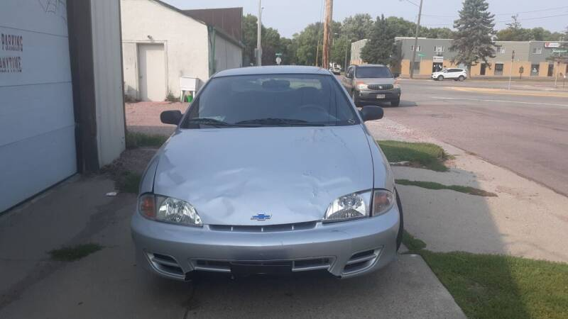 2002 Chevrolet Cavalier for sale at ZITTERICH AUTO SALE'S in Sioux Falls SD