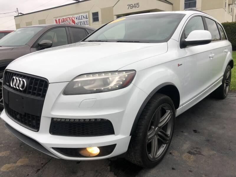 2014 Audi Q7 for sale at Maroun's Motors, Inc in Boardman OH