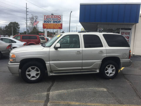 2006 GMC Yukon for sale at Deckers Auto Sales Inc in Fayetteville NC