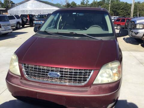 2006 Ford Freestar for sale at A & H Auto Sales in Greenville SC