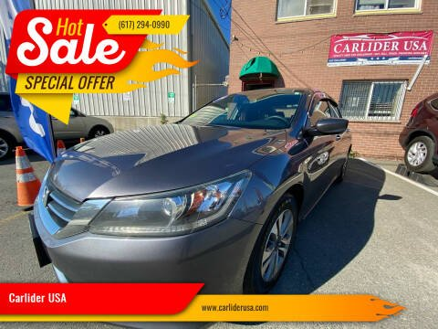 2014 Honda Accord for sale at Carlider USA in Everett MA