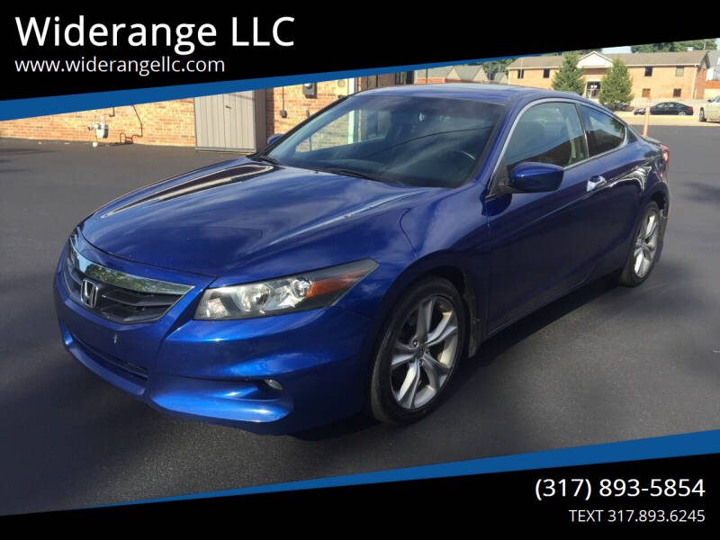 2011 Honda Accord for sale at Widerange LLC in Greenwood IN
