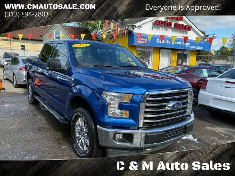2017 Ford F-150 for sale at C & M Auto Sales in Detroit MI
