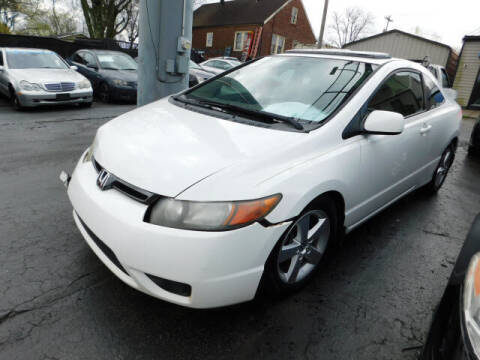 2007 Honda Civic for sale at WOOD MOTOR COMPANY in Madison TN