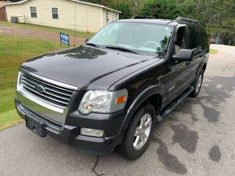 2007 Ford Explorer for sale at ATLANTA AUTO WAY in Duluth GA