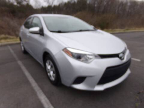 2015 Toyota Corolla for sale at J & D Auto Sales in Dalton GA