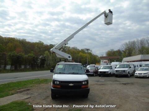 2007 Chevrolet Express Cargo for sale at Vans Vans Vans INC in Blauvelt NY