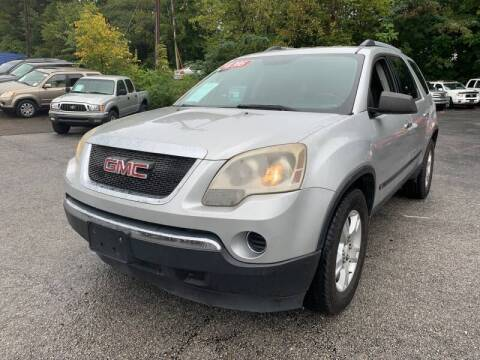 2010 GMC Acadia for sale at Diana Rico LLC in Dalton GA