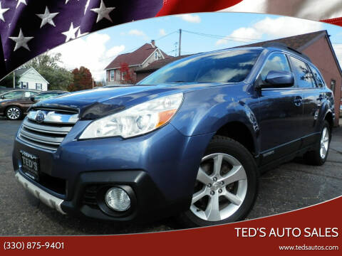 2013 Subaru Outback for sale at Ted's Auto Sales in Louisville OH