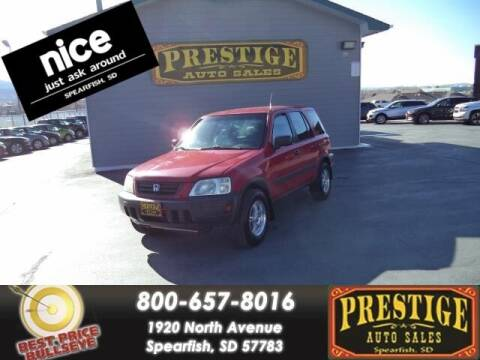 2000 Honda CR-V for sale at PRESTIGE AUTO SALES in Spearfish SD
